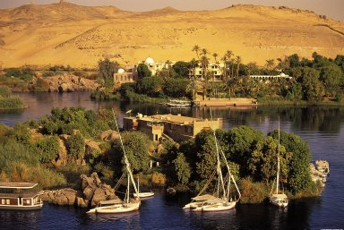 Aswan: Topographic Views