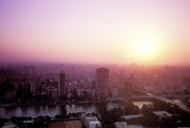 Cairo: Aerial Topographic Views