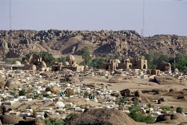 Muslim Cemetery of Aswan (East Bank)