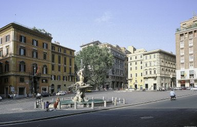 Rome: Topographic Overview of the Piazzas