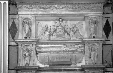 Cenotaphs of Popes Pius II and Pius III