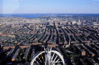 Boston: Aerial Topographic Views (from Prudential Tower)