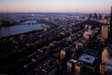 Boston: Charles River; Topographic Views