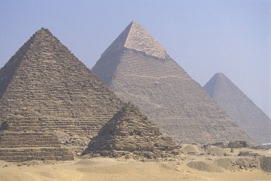 Great Pyramids at Giza