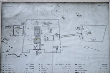 Site Plan of Karnak