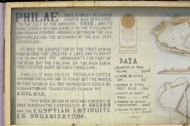 Philae; Drawings on Site