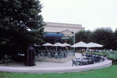 National Gallery of Art Sculpture Garden; Pavilion Caf¿