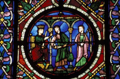 Saint-Denis: Stained Glass in Chevet and Ambulatory