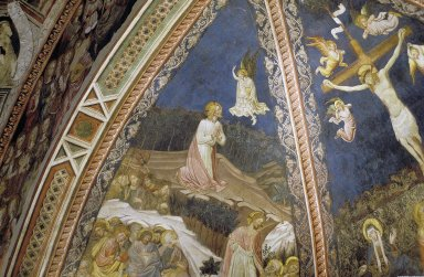 Siena Cathedral Baptistery Frescoes