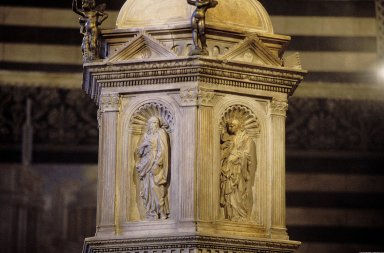 Siena Cathedral Baptistery Font