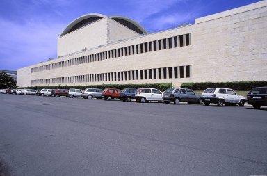 EUR: Palazzo dei Ricevimenti e Congressi
