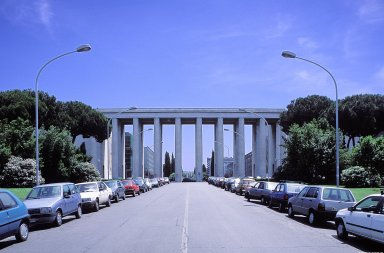 Esposizione Universale of Rome (EUR) [site and area]