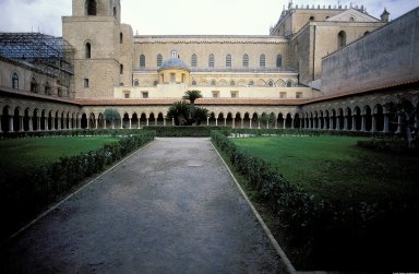 Monreale Cathedral; Benedictine Abbey Cloister