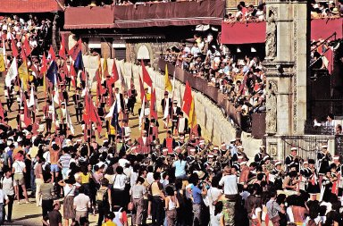 Palio di Siena, August 15-16, 1984 (Cultural Documentation)