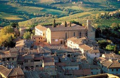 San Gimignano: Topographic Views