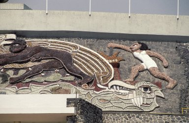Ciudad Universitaria: Mexico '68 Olympic Stadium Mosaics