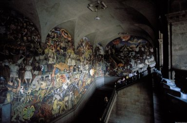 National Palace Murals: History of Mexico