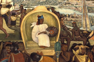 National Palace Murals: From the Pre-Hispanic Civilization to the Conquest