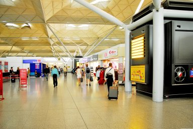 London Stansted Airport Terminal