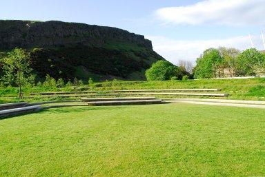 Scottish Parliament Building Park