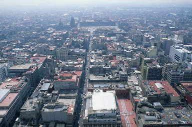 Mexico City: Topographic Aerial Views