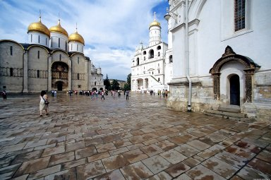 Moscow Kremlin: Cathedral Square