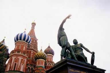 Monument to Minin and Pozharsky