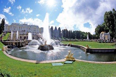 Peterhof; Fountains and Gardens