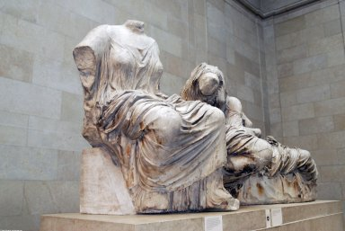 Parthenon Sculpture: East Pediment