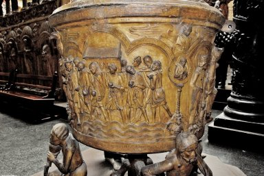 Hildesheim Cathedral Font [plaster cast]