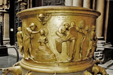 Font from Liege [plaster cast]