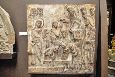 Raising of Lazarus [plaster cast]