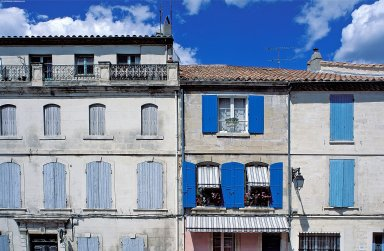 Arles Streets: Topographic Views