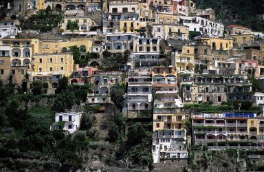 Positano: Topographic Views
