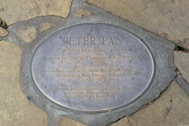 Peter Pan Monument