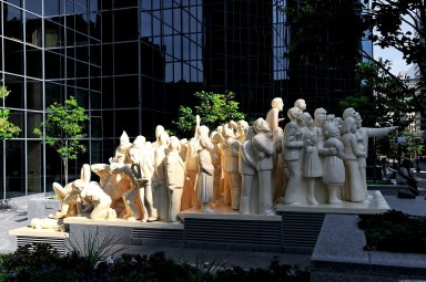 Illuminated Crowd
