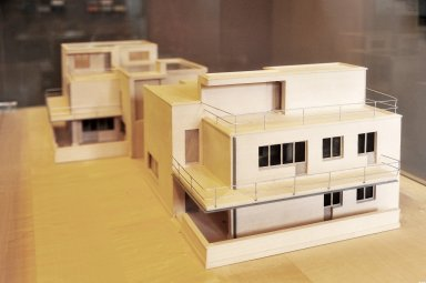 Masters' Houses Ensemble: Model of the Semidetached Houses