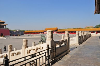 Forbidden City: Gate of Supreme Harmony (Taihe Men)