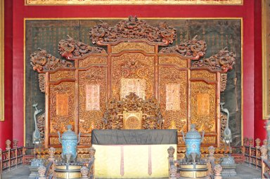 Forbidden City: Palace of Heavenly Purity (Qianqing gong)