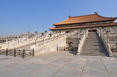 Forbidden City: Hall of Supreme Harmony (Taihe Dian)