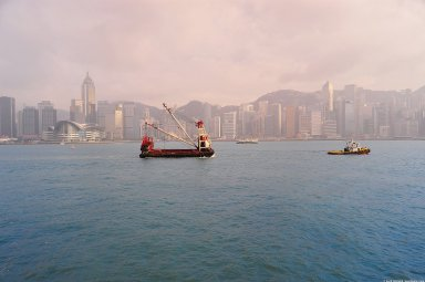 Hong Kong: Topographic Views of Victoria Harbour Shoreline