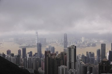 Hong Kong: Topographic Views from Victoria Peak