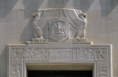 Louisiana State Capitol Sculpture