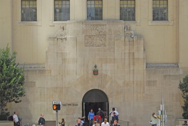 Central Library, Goodhue building
