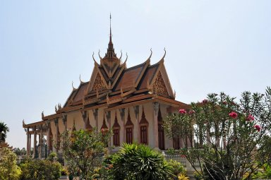 Royal Palace Complex, Phnom Penh; Silver Pagoda