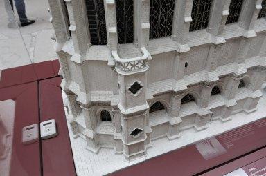 Plaster model of Sainte-Chapelle