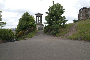 Calton Hill; Dugald Stewart Monument