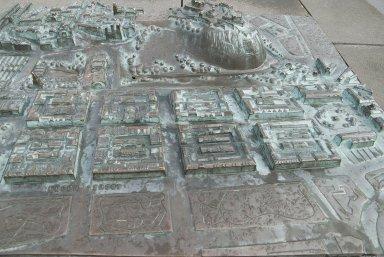 Historic Model of City of Edinburgh