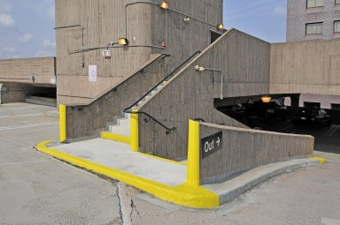 Temple Street Parking Garage