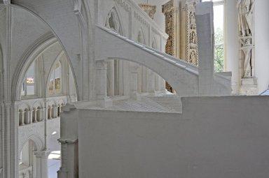 Plaster Model of Sens Cathedral